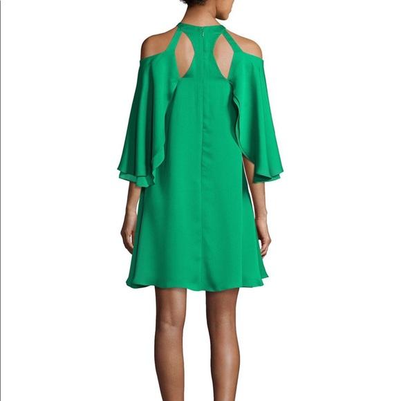 Halston Heritage Dresses & Skirts - Halston Cold Shoulder Mini Dress sz 0